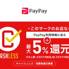 きたの均整院5%還元【キャッシュレス・消費者還元事業認定】